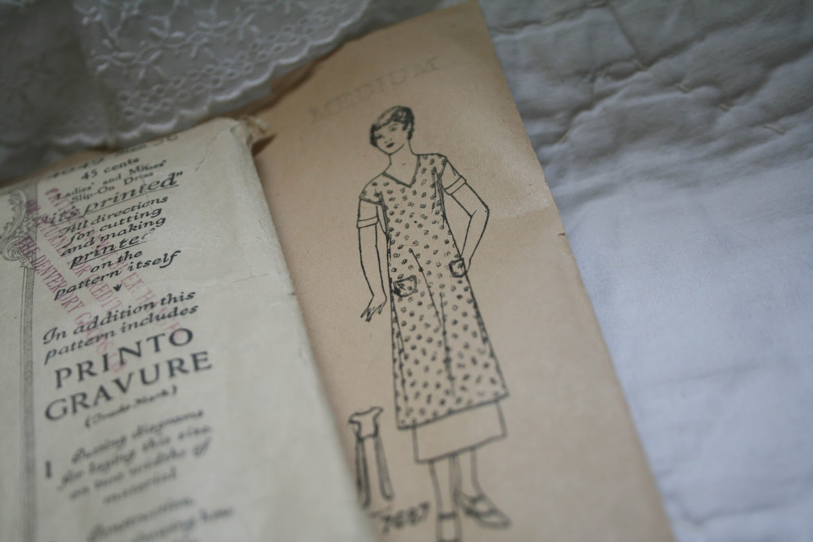 Vintage Apron Patterns Custom Design Ideas