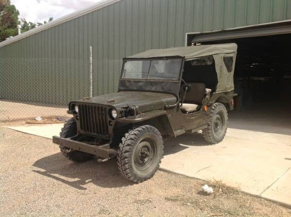 1942 jeep willys wwii for sale 4x4 cars. Black Bedroom Furniture Sets. Home Design Ideas
