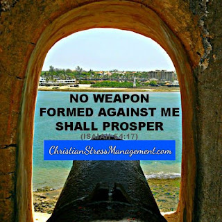 No weapon formed against me shall prosper. (Isaiah 54:17)