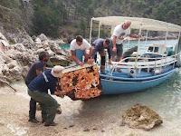 Čišćenje uvala Blaca Nerežišća slike otok Brač Online