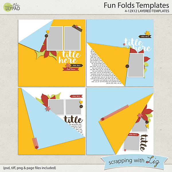http://the-lilypad.com/store/Fun-Folds-Digital-Scrapbook-Templates.html