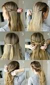 Peinado fácil y rápido para diario