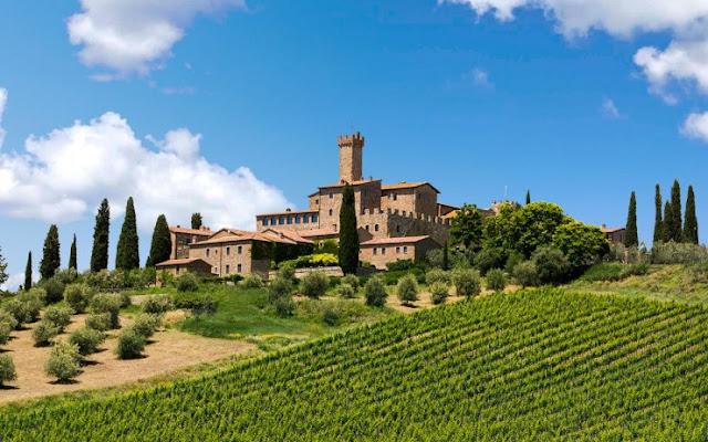 Banfi Castle, Toscana