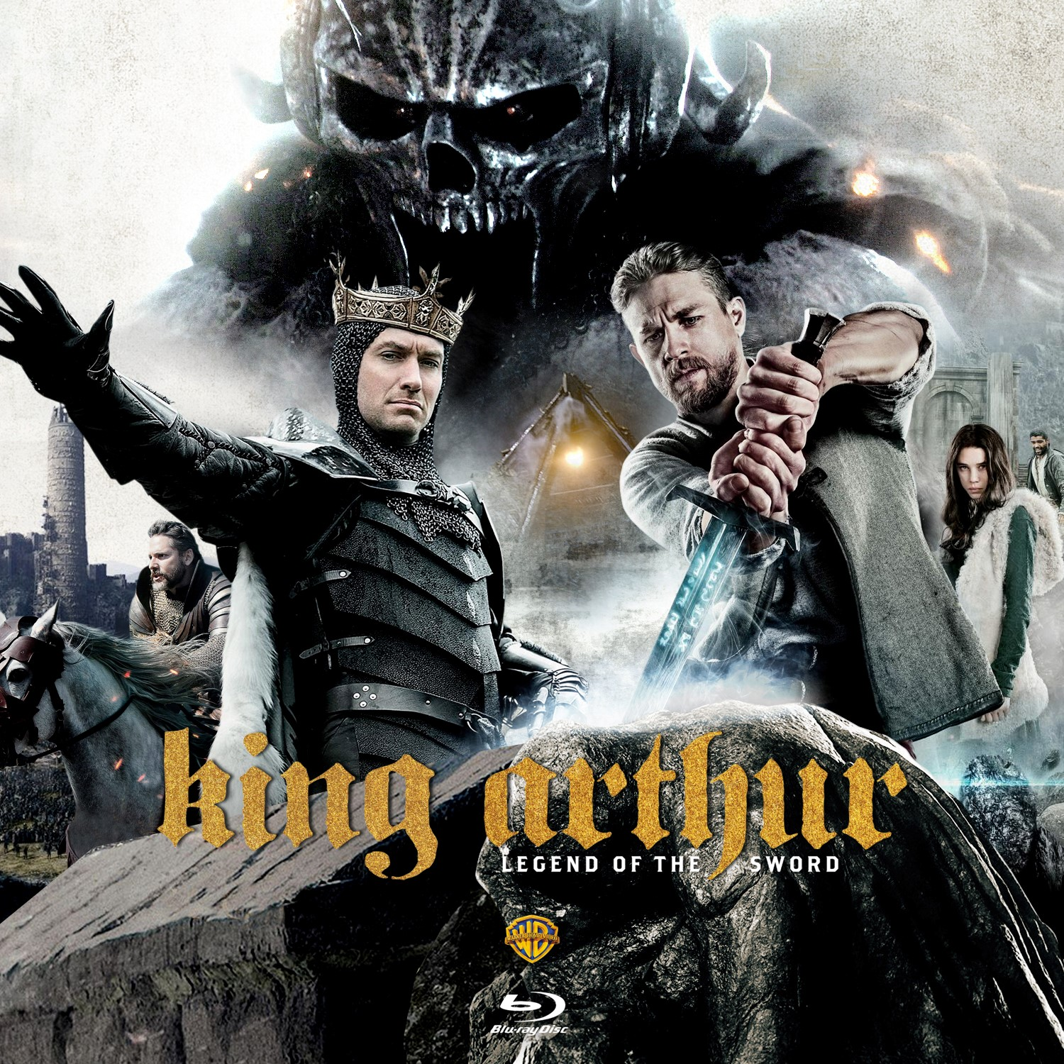 King Arthur: Legend of the Sword Bluray Label | Cover ...