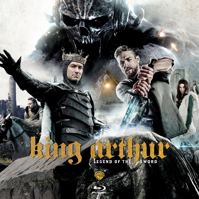 King Arthur: Legend of the Sword Bluray Label