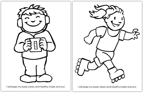 cooperation coloring pages kids - photo#38