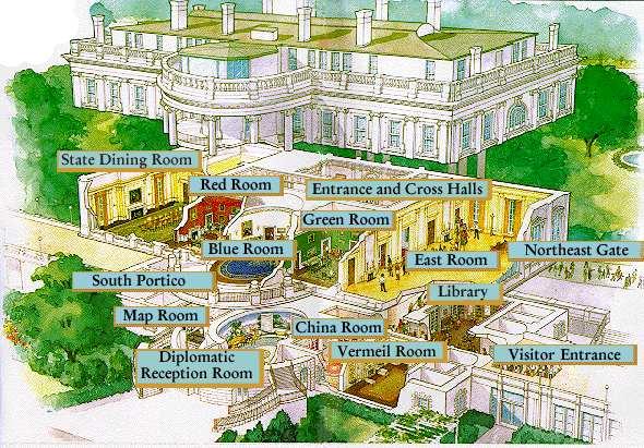 Peeking White House Floor Plan Ayanahouse