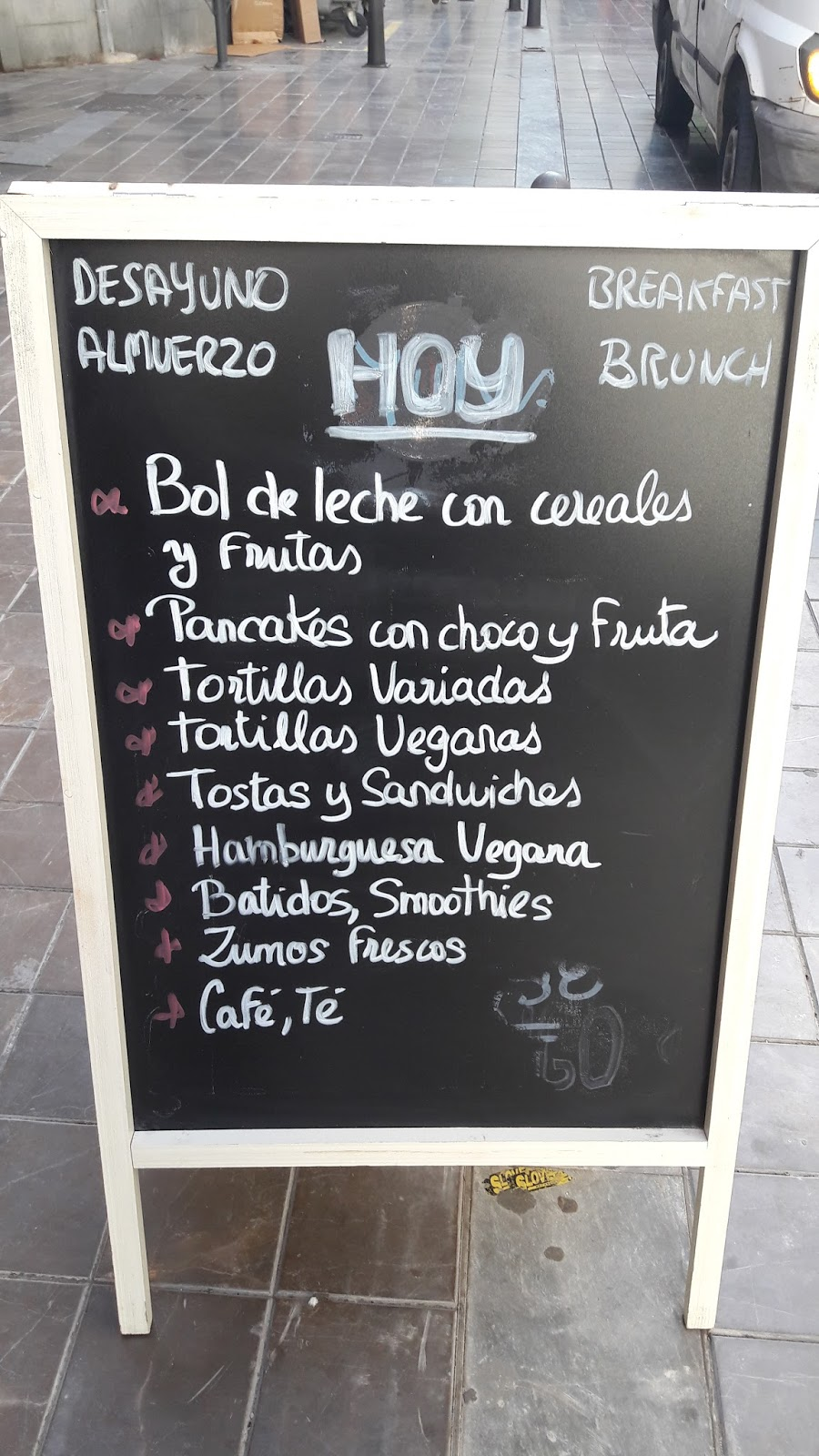 there is a good selection of dishes for breakfast brunch and lunch when you can have three courses for the bargain price of 890 euros