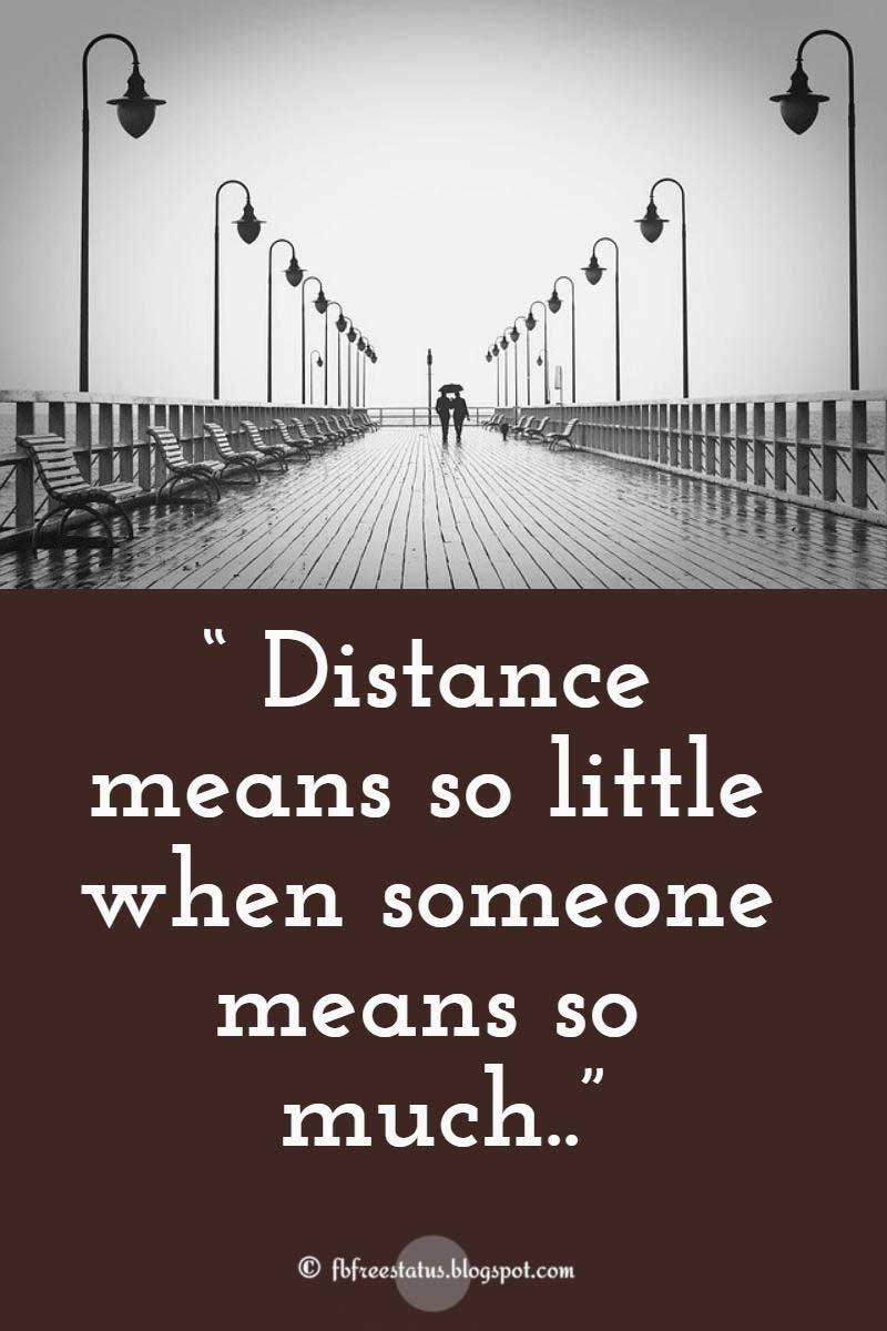 long distance relationship wise words and quotes