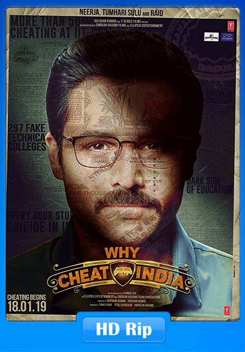 Why Cheat India 2019 Hindi 720p HQ HDTV x264 | 480p 300MB | 100MB HEVC