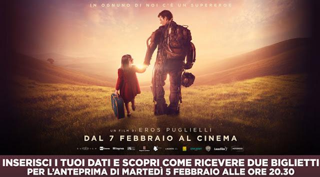 Clicca qui per ottenere gratis due biglietti per vedere al cinema il film Copperman