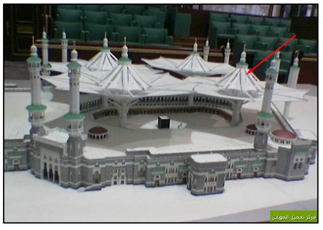 MasyaAllah!! Payung Terbesar Di Dunia Sudah Mulai Di Pasang Di Masjidil Haram