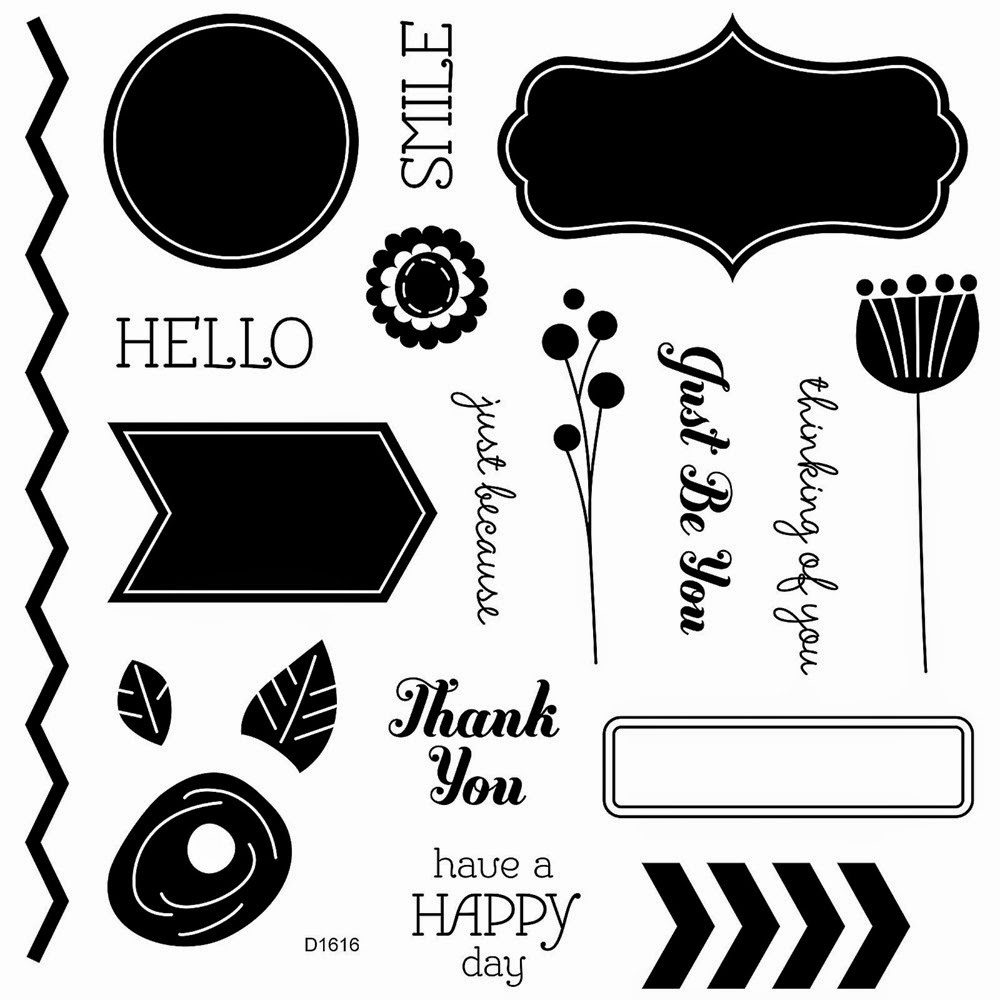 Have A Happy Day stamp set