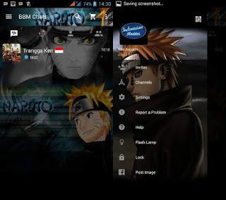 Download BBM MOD Naruto Senki Apk V3.0.0.18 Terbaru