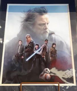 Star Wars Print - The Last Jedi