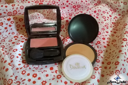 Pó Dailus Color e Blush Rosa Avon