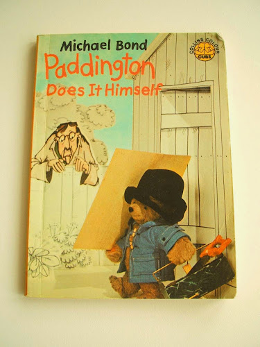 vintage paddington children's book illustrations