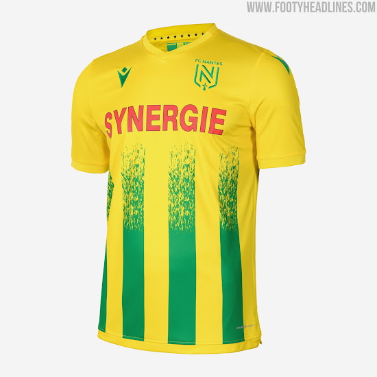 Macron Fc Nantes 20 21 Home Kit Released Footy Headlines