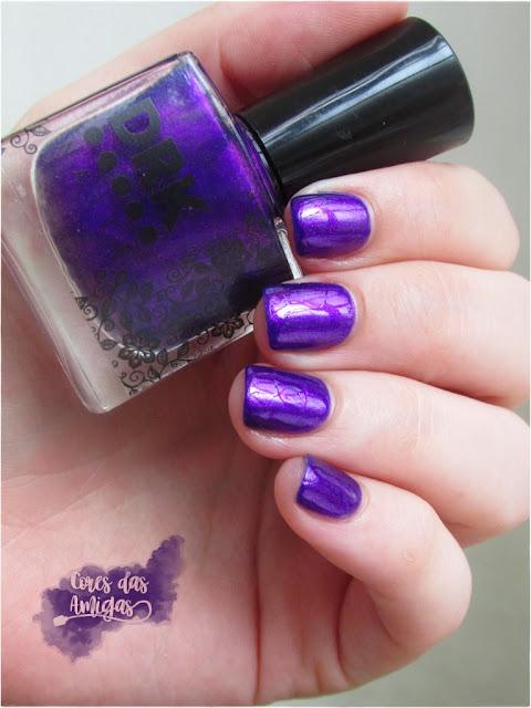 Esmalte Nailpolish Gostosura DRK Nails Ulta Violet Pantone