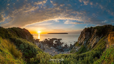 New Zealand, NZ, Wellington, Sunset, Sunrise, Titahi Bay, Porirua, Mana Island, Hawaiian Dives