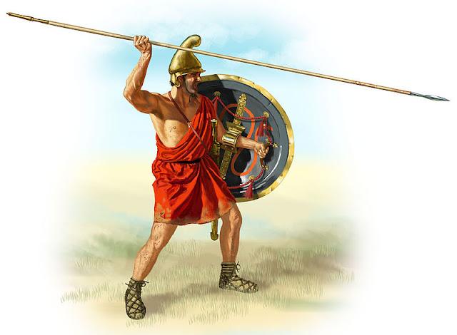 Infante macedonio de la época de las conquistas de Alejandro