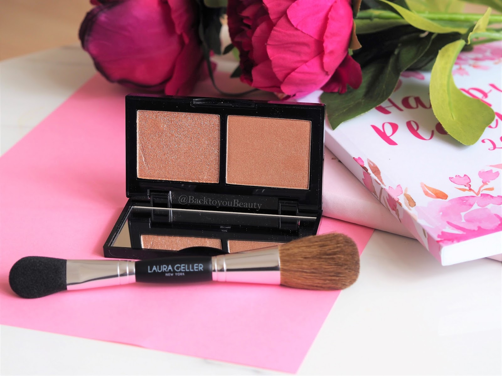 Laura Geller Hi-Def-Glow illuminator duo in Bed of Roses