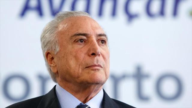Oposición brasileña trata de boicotear la candidatura de Temer 
