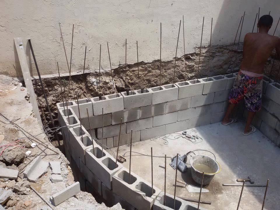 C mo construir una piscina de material construccion y for Como construir una piscina en concreto