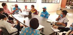 Autoridad Única de Salud sostuvo encuentro con coordinadores de centros de atención en Campo Elías
