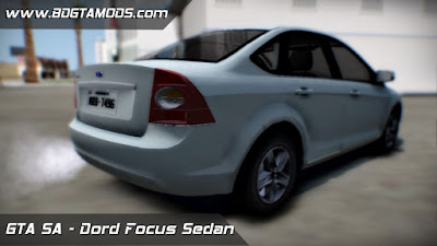 Ford Focus Sedan 2009 ImVehFT para GTA San Andreas 2