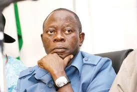 Mr Adams Oshiomhole, formally Handover the party flag the Chief uche Ogah