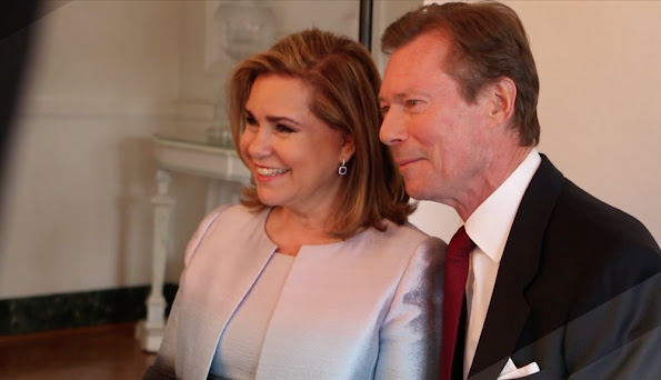 "RTL will soon broadcast the documentary ""Kinnekskanner‬"" about a year in the life of the Luxembourg Grand Ducal Family. - Grand Duke Henri Albert Gabriel Félix Marie Guillaume of Luxembourg, Princess Alexandra of Luxembourg,,Prince Sébastien of Luxembourg, Guillaume, Hereditary Grand Duke of Luxembourg, Countess Stephanie de Lannoy, Prince Félix of Luxembourg, Margareta Lademach, er, Prince Louis of Luxembourg, Prince Guillaume of Luxembourg, Princess Marie Gabriele of Luxembourg, Princess Alix, Dowager Princess of Ligne, Maria Teresa Mestre, Archduchess Marie-Astrid of Austria,"