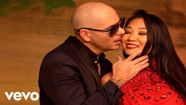 "Pitbull & Fifth Harmony Premiere ""Por Favor"" Video"