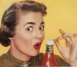 Propaganda das embalagens Alcoa em 1953: fácil para uma mulher abrir