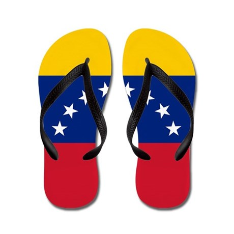b6c641a7cfdf8c The World Gone Crazy t-shirts  Venezuela Flip Flops
