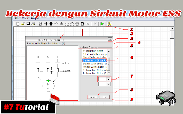 Bekerja dengan Sirkuit Motor | Tutorial bahasa Indonesia #7
