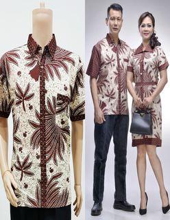 Model Baju Batik Couple Guru