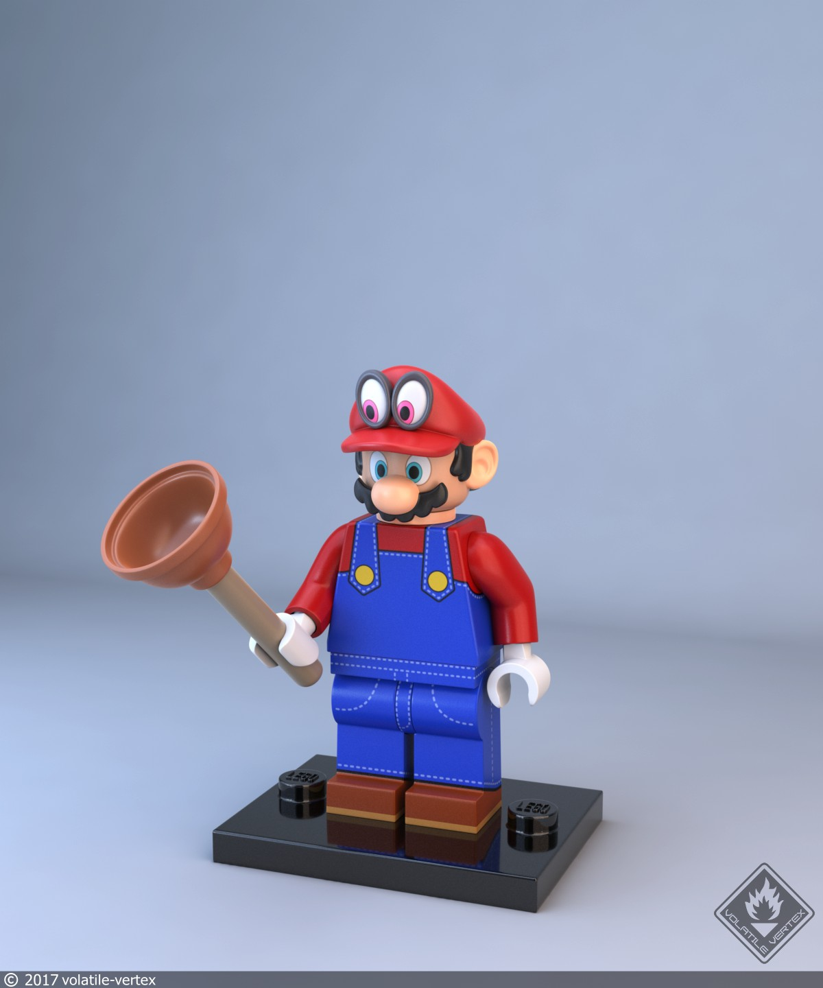 how to make lego mario characters