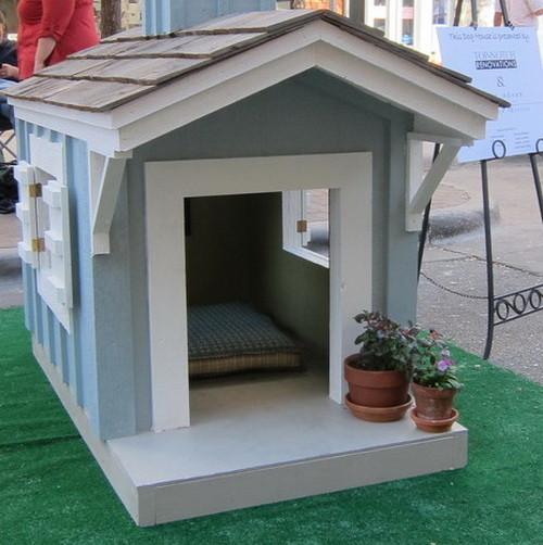 Ideas de dise o casetas de perro originales - Casetas para perros ...