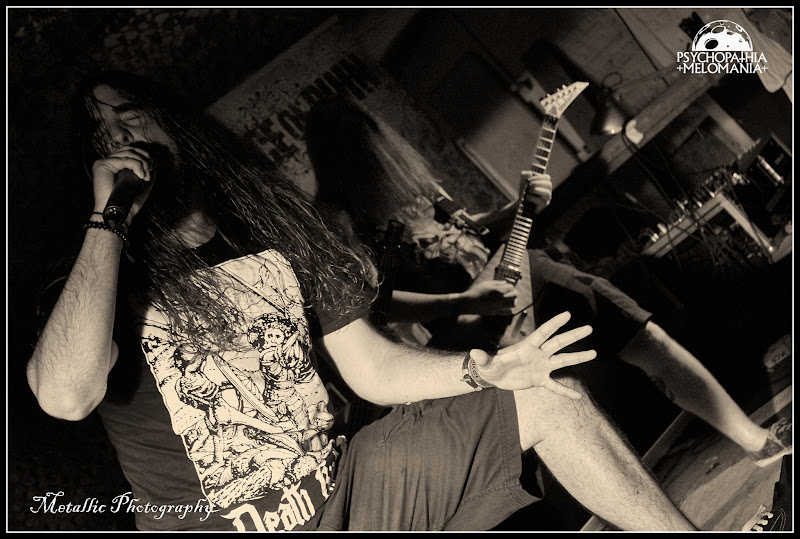 Randy Schaller & Mortimer Baud @Voice Of Ruin, Metal Corporation Fest 2015 - METAL, MCP Apache, Fontaine-L'Évêque, Belgique 29/08/2015