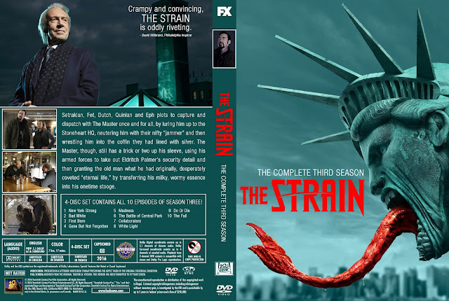 Capa DVD The Strain Terceira Temporada