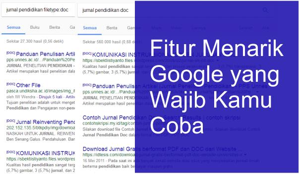 Fitur menarik dari google