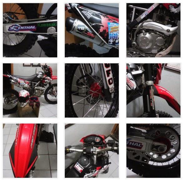 Gambar Modifikasi Kawasaki KLX