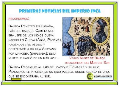 Pizarra: Primeras Noticias del Imperio Inca