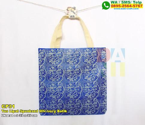 Tas Lipat Spunbond MN-Ivory Batik