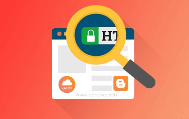 Setting SSL (HTTPS) Cloudflare Untuk Custom Domain Blogger