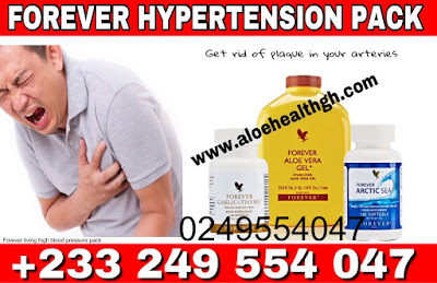 forever living products high blood pressure pack comes with natural supplements to reduce plaques from the arteries to allow passage of blood