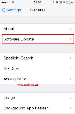 Cara Upgrade iOs Semua Jenis iPhone