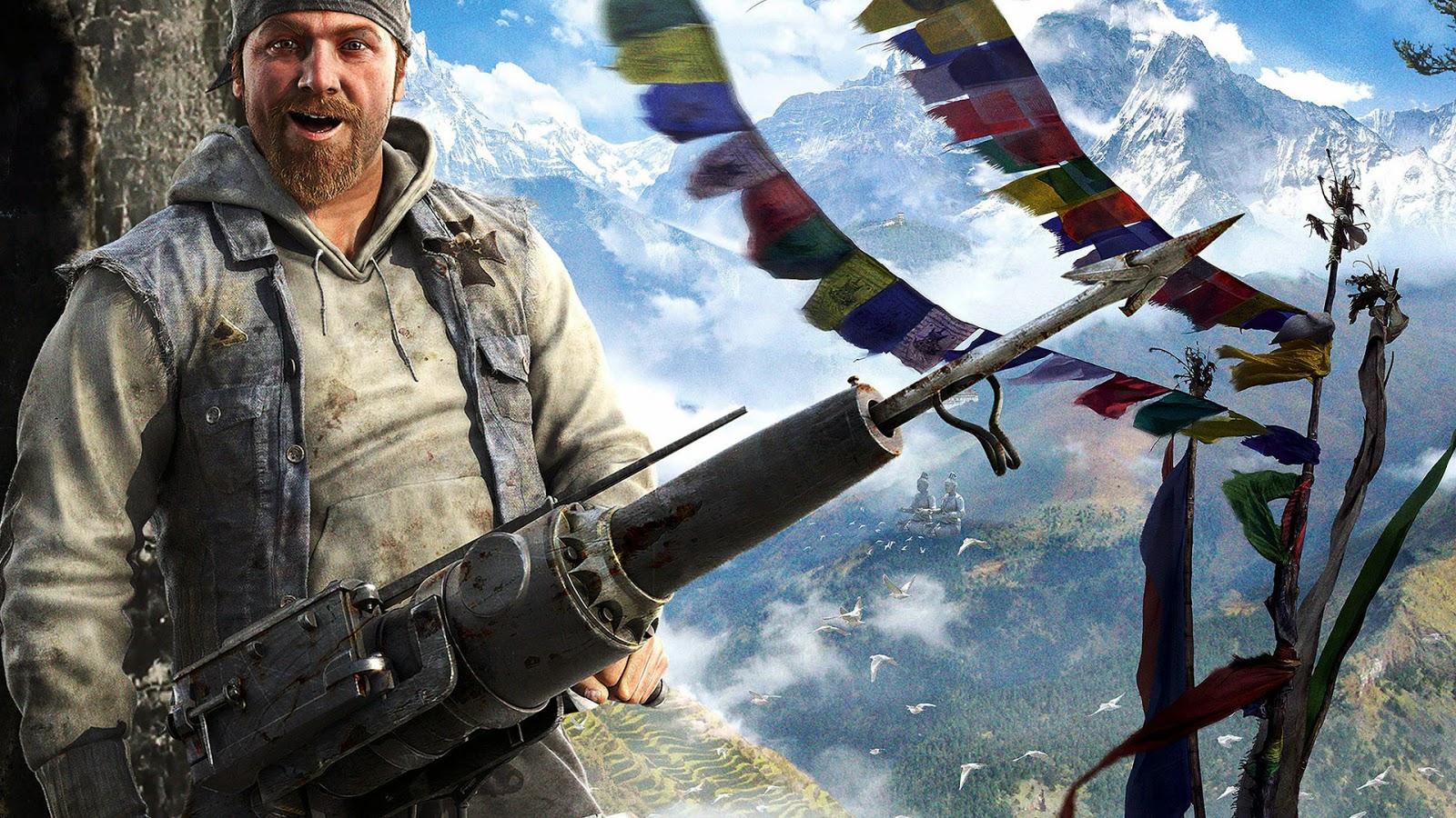 Far Cry 4 Game Wallpaper