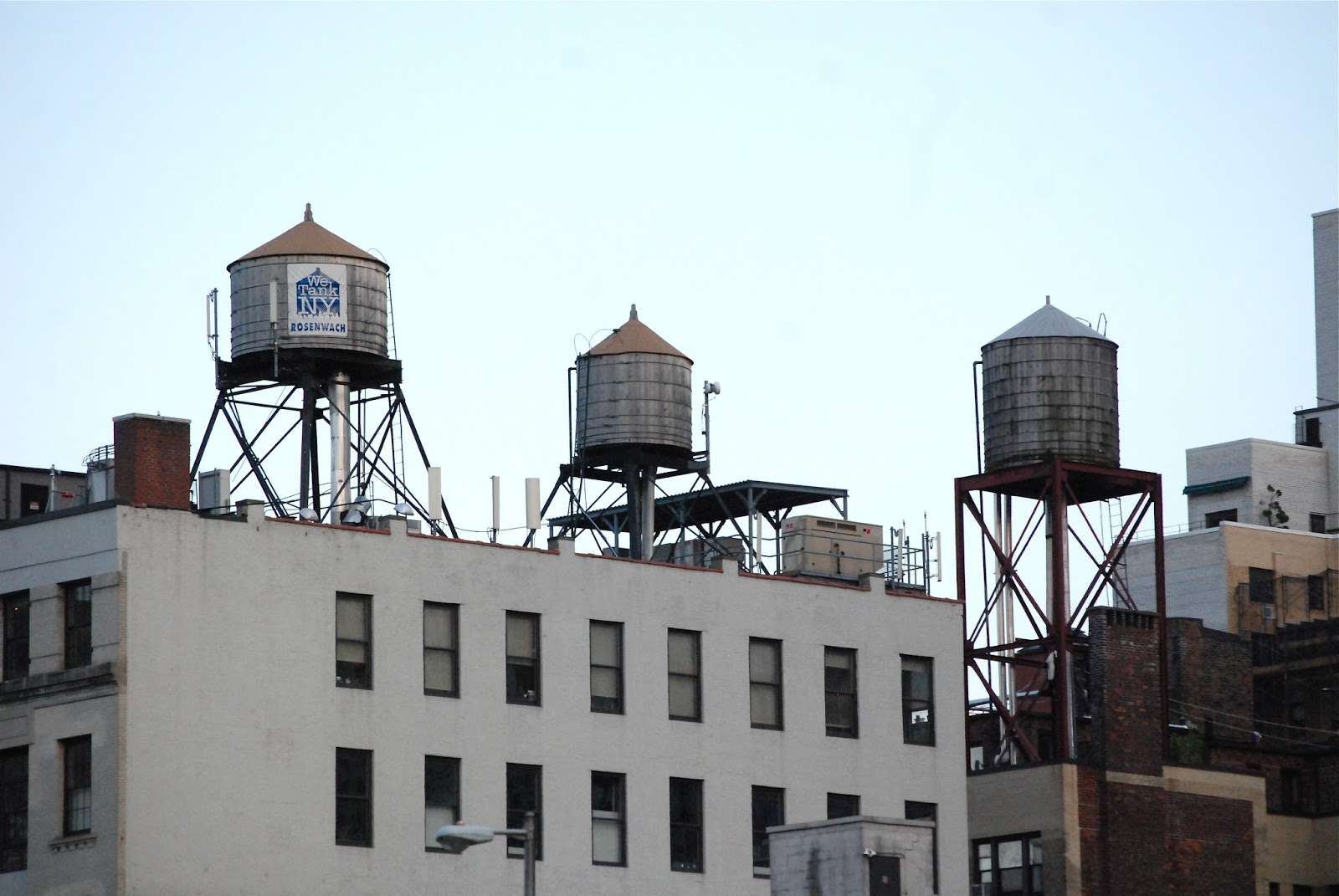 Nyc Nyc A Tribute To The Iconic Rooftop Water Towers